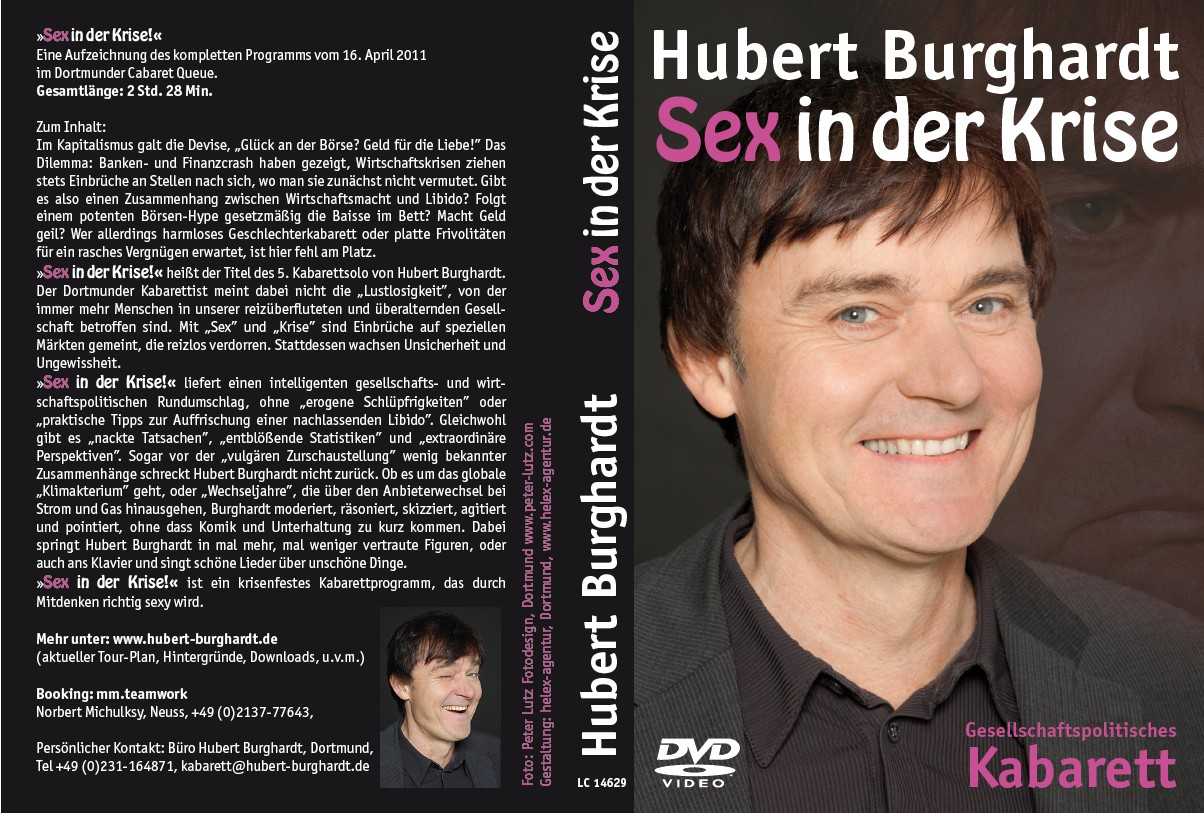 Hubert Burghardt DVD - \'SEX in der KRISE\'